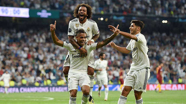 Real vs Roma anh 32