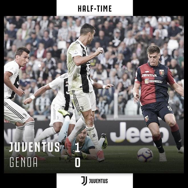 Juventus vs Genoa (1-1): Mot minh Ronaldo la khong du hinh anh 12