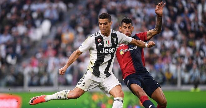 Juventus vs Genoa (1-1): Mot minh Ronaldo la khong du hinh anh 10