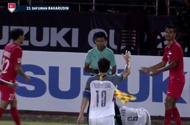 Philippines 1-0 Singapore: HLV Eriksson co chien thang tai AFF Cup hinh anh 10