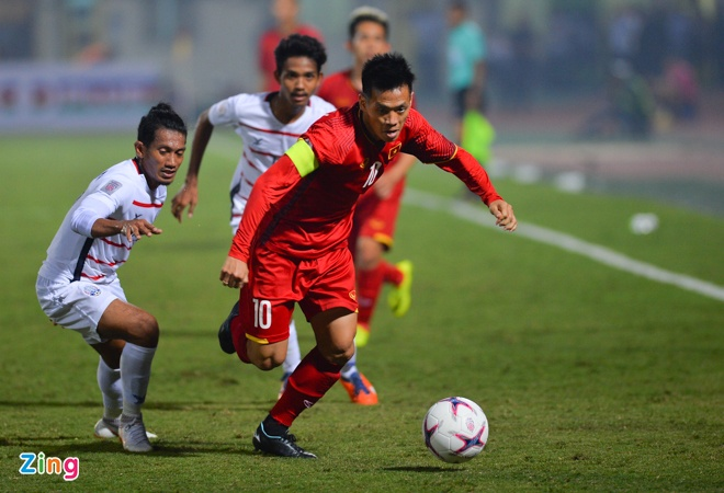 Tuyen Viet Nam vao ban ket AFF Cup voi ngoi dau bang hinh anh 51