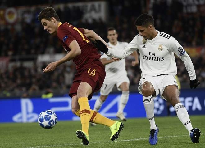 AS Roma vs Real Madrid anh 9