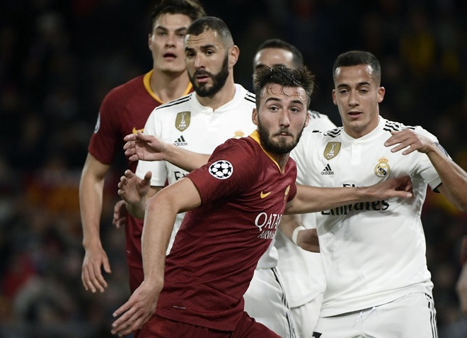 AS Roma vs Real Madrid anh 14