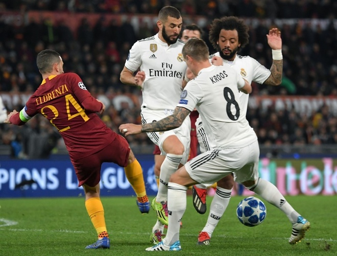 AS Roma vs Real Madrid anh 12