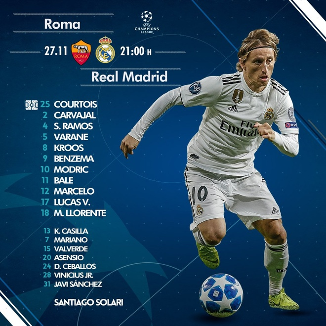 AS Roma vs Real Madrid anh 6
