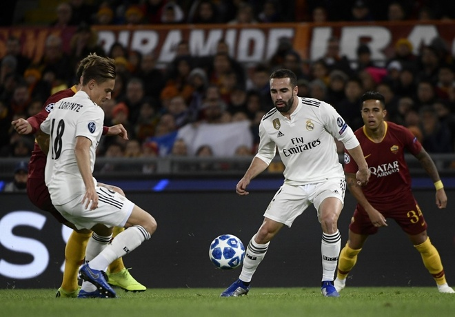 AS Roma vs Real Madrid anh 13