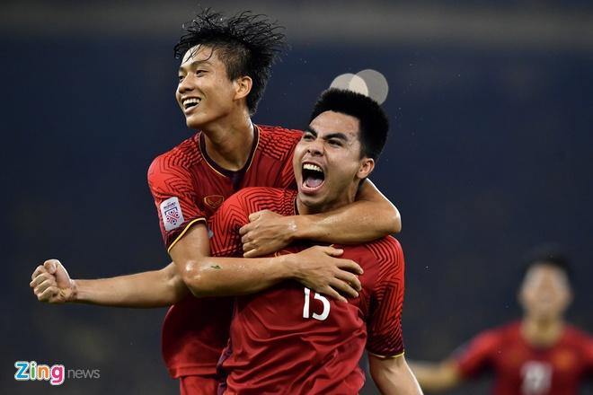 Tuyen Viet Nam vo dich AFF Cup 2018 voi thanh tich bat bai hinh anh 14