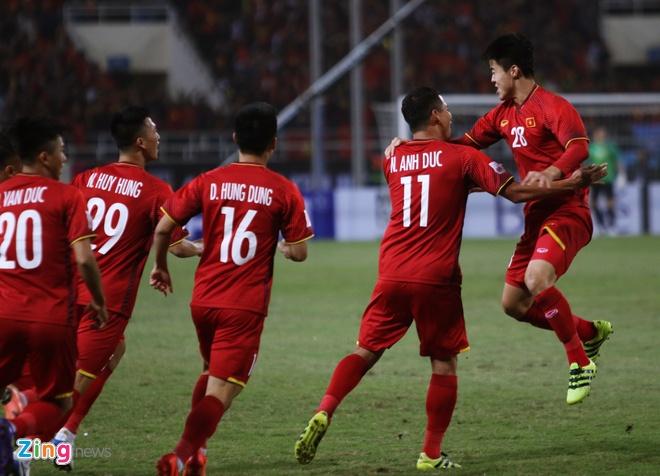 Tuyen Viet Nam vo dich AFF Cup 2018 voi thanh tich bat bai hinh anh 35
