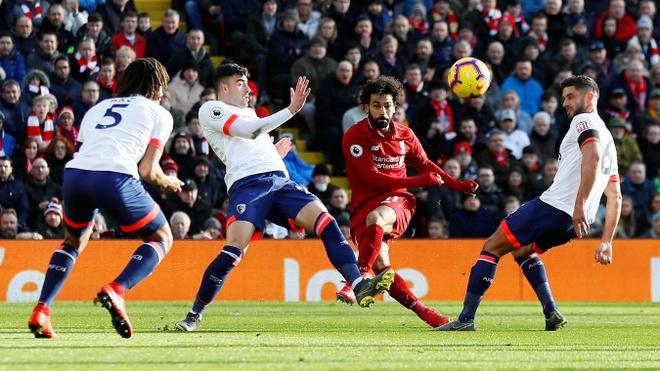 Salah ghi ban, Liverpool tro lai ngoi dau bang Premier League hinh anh 18