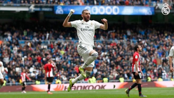Real vs Athletic Bilbao (3-0): Benzema ghi hat-trick ban thang hinh anh 22