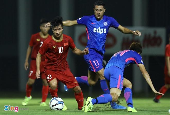 U22 Viet Nam vs CLB Kitchee (2-0): Martin Lo, Tran Danh Trung ghi ban hinh anh 7