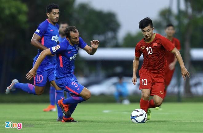 U22 Viet Nam vs CLB Kitchee (2-0): Martin Lo, Tran Danh Trung ghi ban hinh anh 6