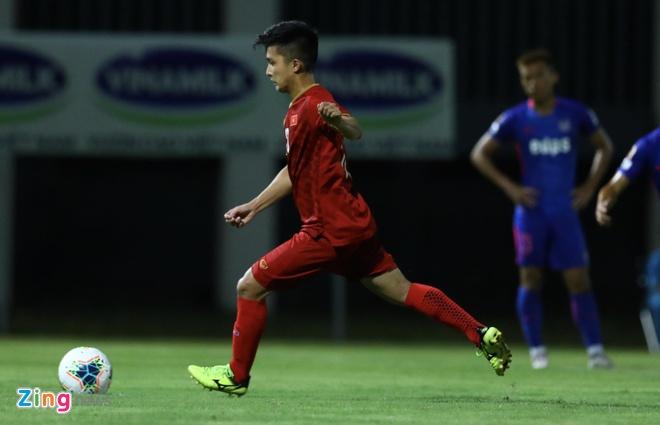 U22 Viet Nam vs CLB Kitchee (2-0): Martin Lo, Tran Danh Trung ghi ban hinh anh 11