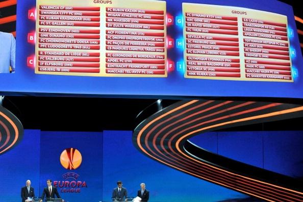 Boc tham chia bang Europa League: Dai gia de tho hinh anh