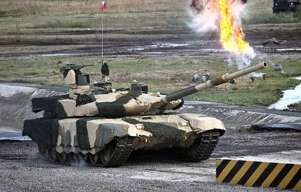 Nga tung clip 3D ve sieu tang T-90MS va BMPT hinh anh