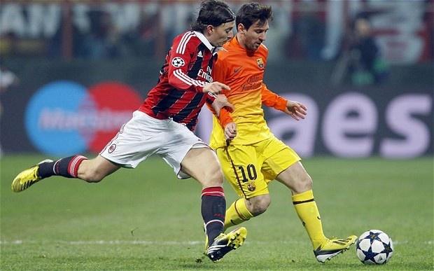 Milan - Barcelona: Cho Messi xoi tung San Siro hinh anh
