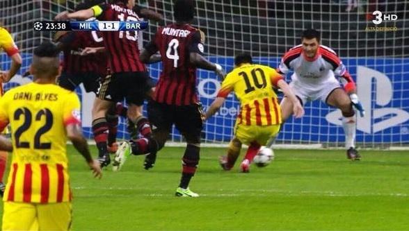 Tuong thuat Milan 1-1 Barcelona: Milan thu hoa thanh cong hinh anh