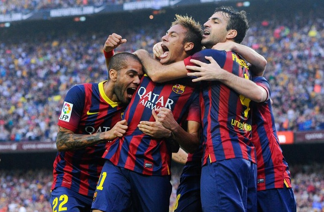 Tuong thuat Barca 2-1 Real: Neymar ban ha Ken ken hinh anh