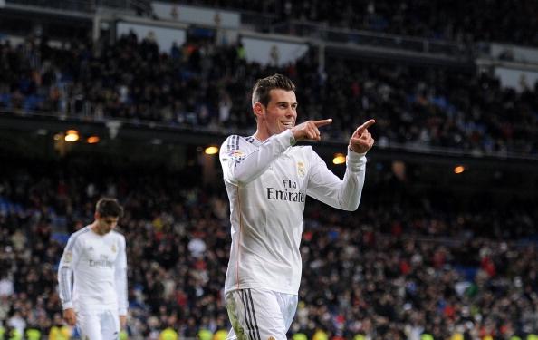 Bale lap hat-trick dau tien trong ngay Ronaldo vang mat hinh anh 1