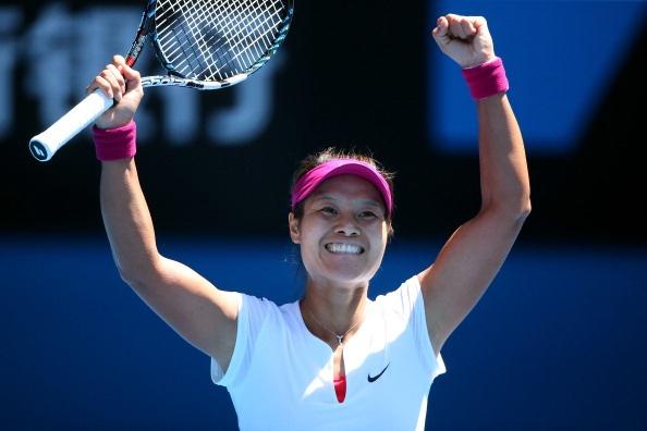 Li Na dung tay vot tung sang VN tai chung ket Australia Open hinh anh 1