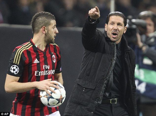Atletico Madrid - AC Milan: Simeone tren be phong lich su hinh anh