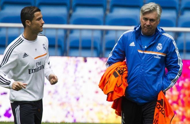 Ronaldo co the du tran gap Barca bat chap chan thuong bi an hinh anh