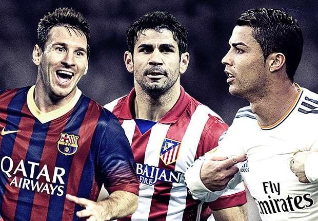 Messi, Ronaldo sat canh trong doi hinh tieu bieu La Liga hinh anh