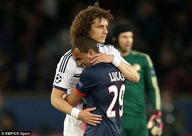 Vuot qua kiem tra y te, David Luiz 99% la nguoi PSG hinh anh