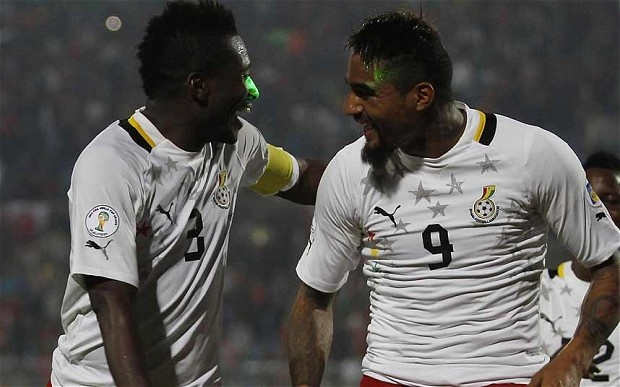 Danh sach rut gon cua 32 doi tham du World Cup hinh anh 26 Tiêu điểm: Những cầu thủ đáng chú ý trong danh sách của Ghana là Asamoah Gyan, Sulley Muntari và đặc biệt là lão tướng Michael Essien – cầu thủ vắng mặt tại World Cup 2010 do chấn thương. Trong khi việc John Mensah và Isaac Vorsah không được triệu tập đã tạo ra không ít sự tiếc nuối.
