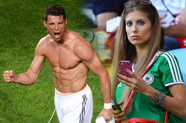 Ban gai Hummels che Ronaldo thieu ban linh dan ong hinh anh
