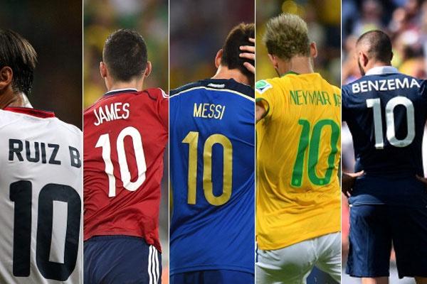 Nhung so 10 toa sang ruc ro tai World Cup 2014 hinh anh