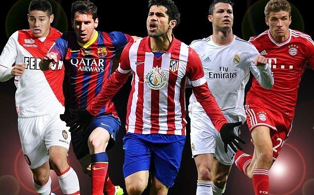 UEFA cong bo Top 10 cau thu xuat sac nhat chau Au hinh anh