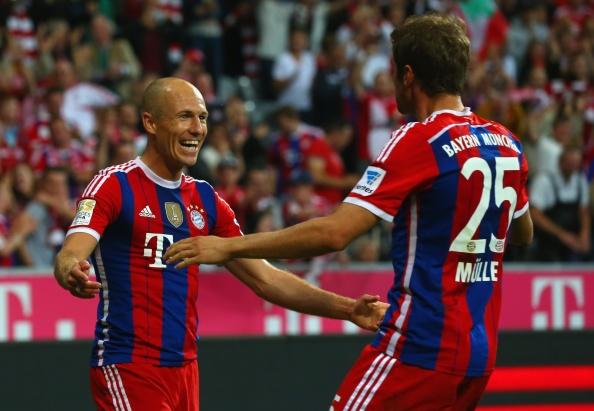Bayern thang hu via truoc Wolfsburg ngay khai mac Bundesliga hinh anh