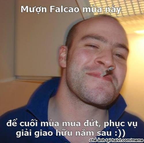 Anh vui Van Gaal khien doi thu chu quan de cuop Falcao hinh anh 9