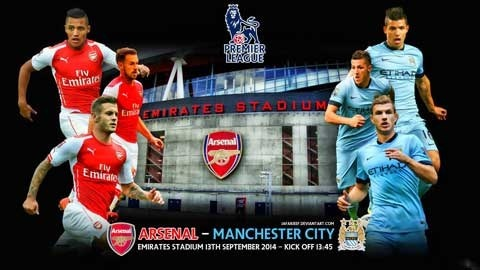Arsenal - Man City: Keo sap Emirates hinh anh