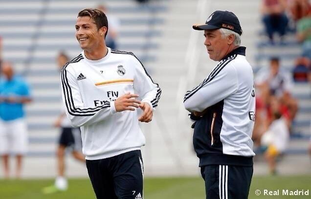 Ancelotti khong cho Ronaldo nghi ngoi hinh anh