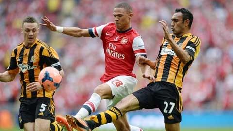 Arsenal - Hull City: Phao thu se sa lay hinh anh