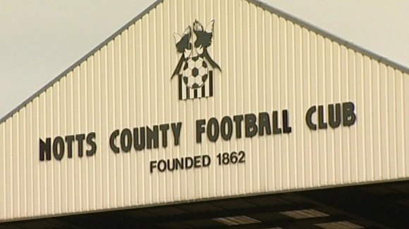 Notts County F.C thành lập năm 1862