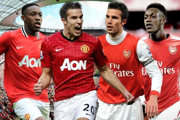 13 cau thu tung khoac ao Arsenal lan M.U hinh anh
