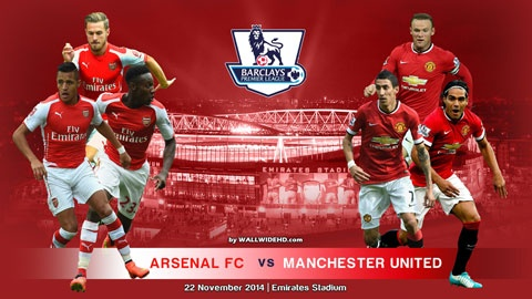 Arsenal - M.U: Den luc Quy hien hinh hinh anh