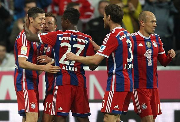 Bayern Munich là đội bóng giàu thành tích nhất lịch sử bóng đá Đức. Gã khổng lồ xứ Bavaria sở hữu bộ danh hiệu khổng lồ với 23 chức vô địch Bundesliga, 16 Cúp QG Đức, 5 Champions League và 1 UEFA Cup. Giá trị đội hình của Bayern hiện rơi vào tầm 460 triệu bảng (<abbr class=