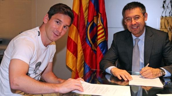 Chu tich Barca gian tiep day Messi khoi Nou Camp hinh anh