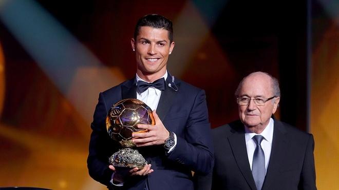 Ronaldo gianh QBV FIFA 2014 voi so phieu ap dao hinh anh