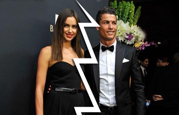 Ronaldo thua nhan chia tay Irina Shayk hinh anh