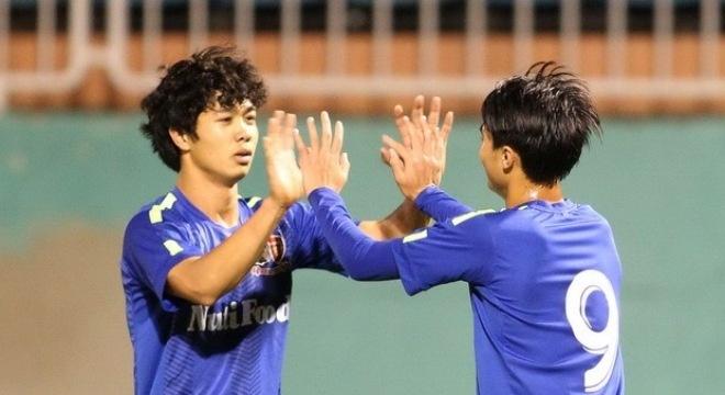 HAGL 1-0 Da Nang: Cong Phuong ghi dau an dam net hinh anh