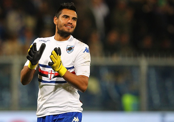 Người hùng giúp Argentina vượt qua Hà Lan ở bán kết World Cup 2014 có thể sẽ rời Serie A sau khi đáo hạn hợp đồng với Sampdoria vào cuối mùa. Romero hiện nằm trong mục tiêu săn đón của Manchester United và Liverpool.