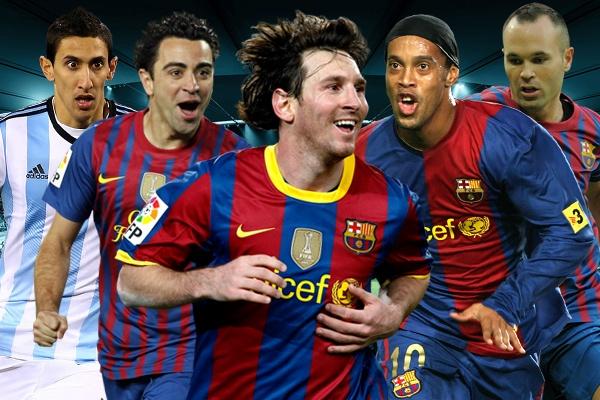 10 sieu sao trong doi hinh xuat chung cung Lionel Messi hinh anh