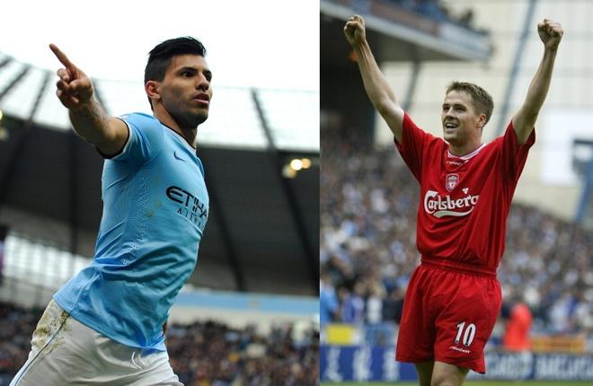 """Aguero đang là một trong những chân sút xuất sắc nhất thế giới. Anh chính là cảm hứng chiến thắng của Man City. Tiết lộ trước báo giới, El Kun cho biết anh bị ảnh hưởng khá nhiều từ phong cách thi đấu của Michael Owen, thần đồng bóng đá Anh cách đây hơn 1 thập kỷ. """"Người hâm mộ Man City có thể không muốn nghe, nhưng khi còn là một đứa trẻ, tôi muốn mình được như Owen. Tôi luôn thích Liverpool"""