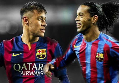 Doi hinh Barca thay doi ra sao tu Ronaldinho den Neymar? hinh anh