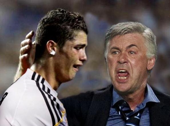 Anh che Ronaldo khoc than khi dung Atletico o tu ket Cup C1 hinh anh